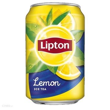 Напиток Lipton лимон банка 330мл 12шт