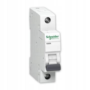 SCHNEIDER Однофазный автоматический выключатель 1Ф 1П B16A