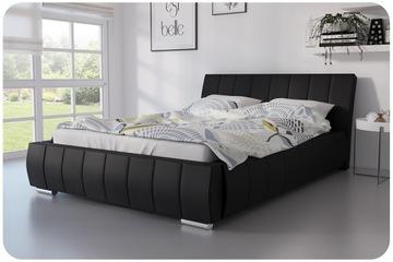 Кровать мягкая 180x200 ЛАЗИО двуспальная кровать