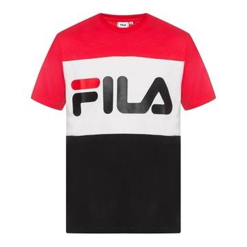 Koszulka męska FILA F Box Classic Logo Odzież męska Biały