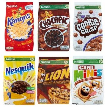 Набор хлопьев для завтрака Nestle 500 г MIX 5 + 1