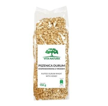 Твердая пшеница, расширенная медом 150 г