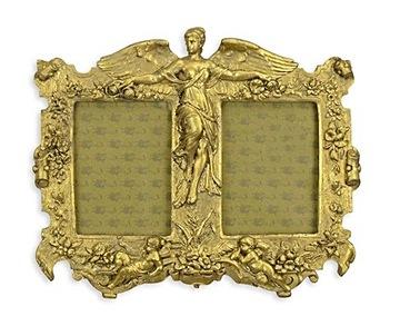 Стильная золотая рамка для фотографий для подвешивания cl