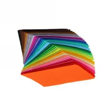 ДЕКОРАТИВНЫЙ акриловый фетр 2мм (30х40см) 43 цвета