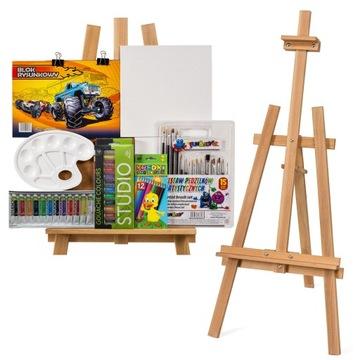 Набор для рисования + СТИКЕР + краски + доска для рисования