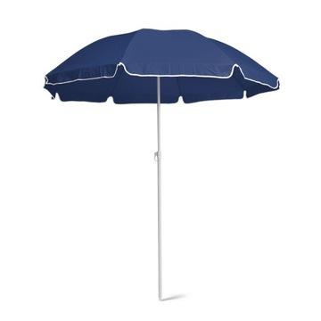 Складной пляжный зонт, УФ-свет, темно-синий