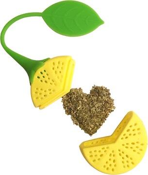 Силиконовый зел для чая с лимонной травой