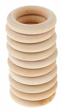 Деревянный круг для карниза макраме 10 шт.