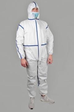 Химико-медицинский химический костюм, гигиенический CE PL