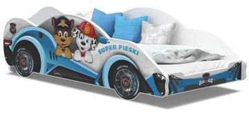 Кровать-машина AUTO CARS 180x90 + матрас