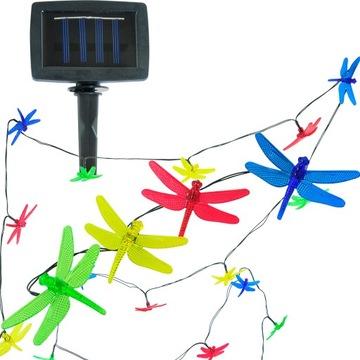 Светодиодные солнечные садовые лампы GIRLAND DRAGONAN
