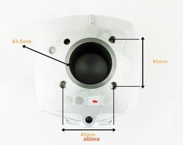 Цилиндр 4t atv 200ccm (63, 5mm) (sw. 15mm) к-т., фото 5