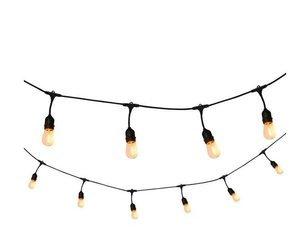 Садовая гирлянда, фонари, цепь 15м, светодиодная лампа