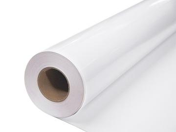 Самоклеящаяся пленка из шпона белая глянцевая для мебели