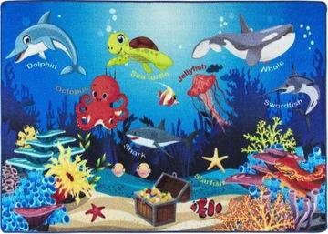 Детский коврик SweetKids-OCEAN 100x150