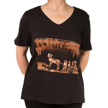 t-shirt koszulka ręcznie malowana jakość bawełna