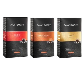 Кофе молотый Davidoff - Rich / 57 / Fine set