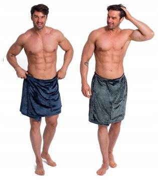 Ręcznik Kąpielowy Pareo Kilt Do Sauny Basen L/XL