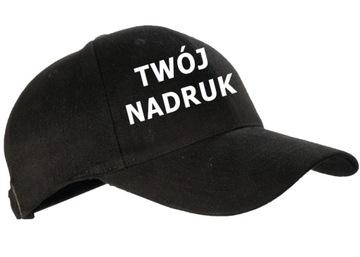 czapki czapka zTwoim nadrukiem gruba 6-paneli logo