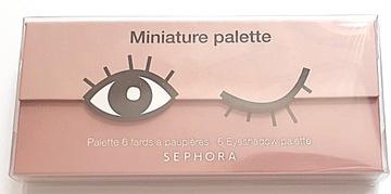 Sephora Miniature Palette paletka Donut nowa