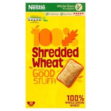 Nestle 100Shredded Wheat 30 шт. Цельнозерновой Великобритания