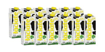Набор из 12 штук aciate UHT-молока 2% 1л