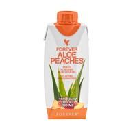 Forever Aloe Peaches алоэ персиковый сок 330 мл