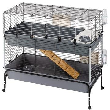 Большая клетка для кроликов RABBIT 120 DOUBLE