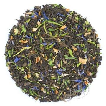 Время для чая пуэр. Эффект бергамота как бабочка.