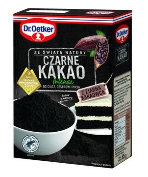 Доктор Oetker Black Cocoa для тортов и десертов 85 г