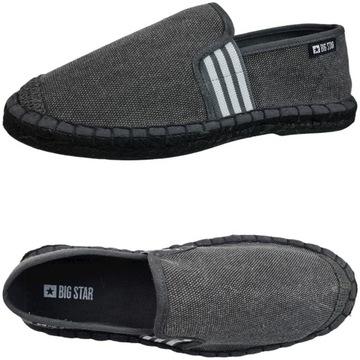 Big Star wygodne espadryle męskie buty HH174199 41
