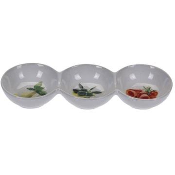 Фарфоровые тарелки для закусок