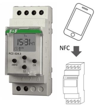 Программатор времени PCZ-524 NFC астрономический FF