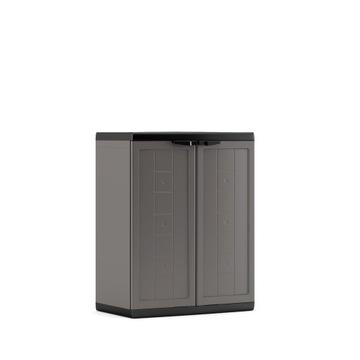 Шкаф низкий пластиковый 85см ВАРШАВА