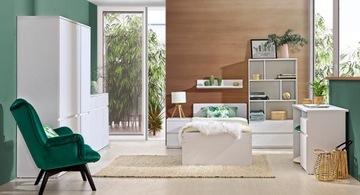 ARCA комплект молодежной мебели # 8 арктический белый
