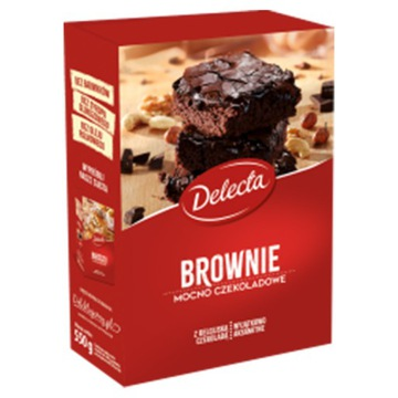 Торт Delecta Brownie Powder Cake 550гр