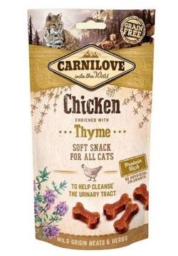CARNILOVE Cat Snack Мягкая курица с тимьяном 50г