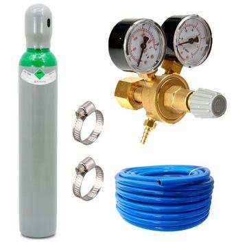 Газовый баллон MIX Ar / Co2 смесь + редуктор + шланг