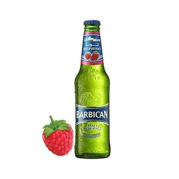 Безалкогольное малиновое пиво / малиновое BARBICAN 3