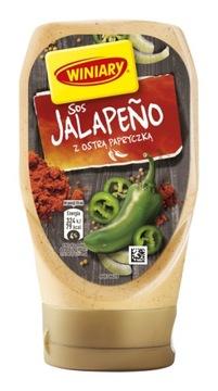 WINIARY JALAPENO соус с острым перцем 300 мл ТУБА
