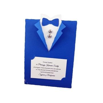 Коробка конфет КОСТЮМ Причастие Свадьба для гостей