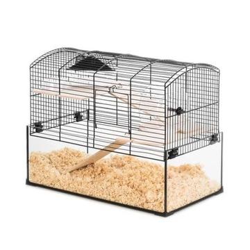 ZOLUX Cage NEO Panas стеклянный туалетный лоток для грызунов