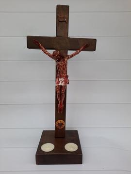 Страстный крест сердца Иисуса конца времен, 40 см