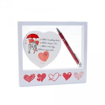 FRAME HEART ROW PEN подарок на День святого Валентина