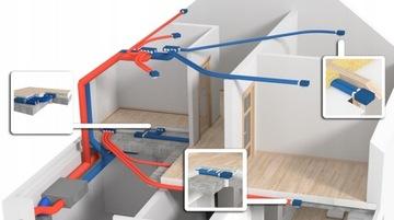 Проект рекуперации вентиляции с оценкой первого этажа