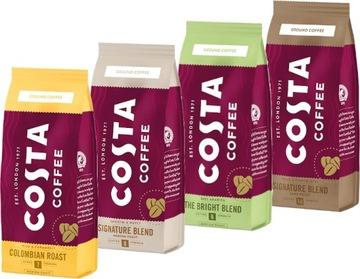 Молотый кофе Costa Coffee Mix flavors 4x 200г