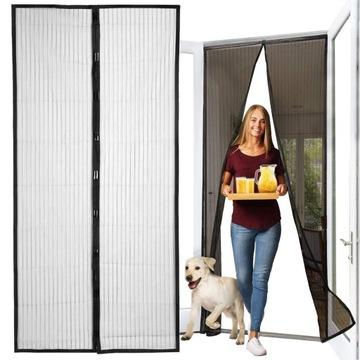 Москитная сетка на дверь Насекомые Комары 80/90 / 100x210 / 220