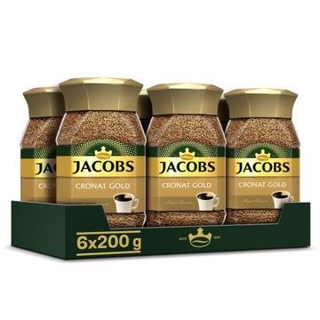 Кофе растворимый Jacobs Cronat Gold 6x200г