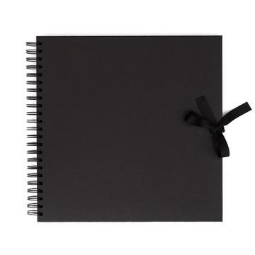 Альбом для декорирования 30,5 х 30,5 см черный 40 листов