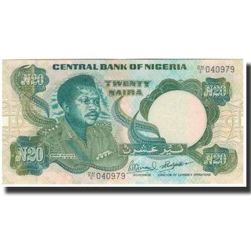Банкнота, Нигерия, 20 Найра, без даты 2005 г., KM: 26f,